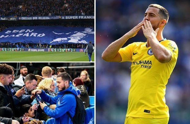 Eden Hazard mení Londýn za Madrid !